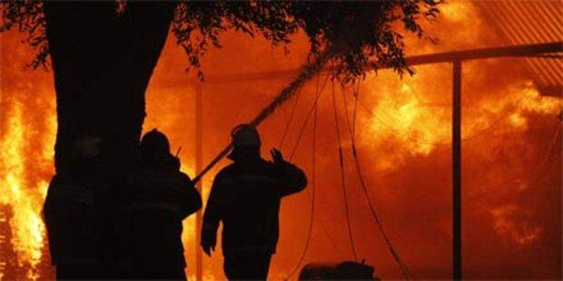 Verheerende Waldbrände in Russland