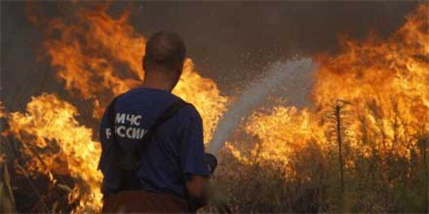 Waldbrände bedrohen russisches AKW