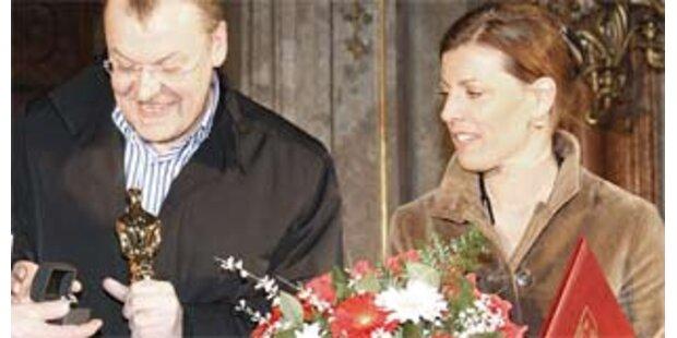 Ruzowitzky erhält Ehrenring von Klosterneuburg