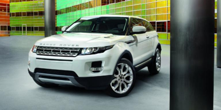Range Rover Evoque in Paris