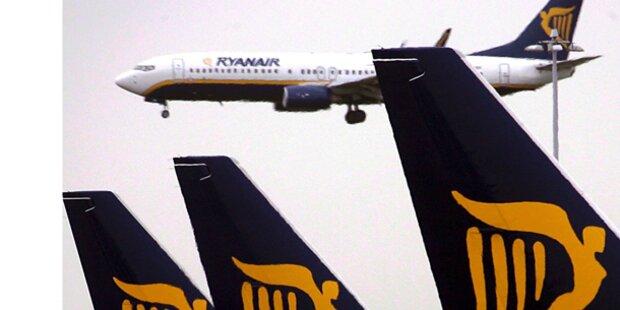 Schon wieder Panne bei Ryanair