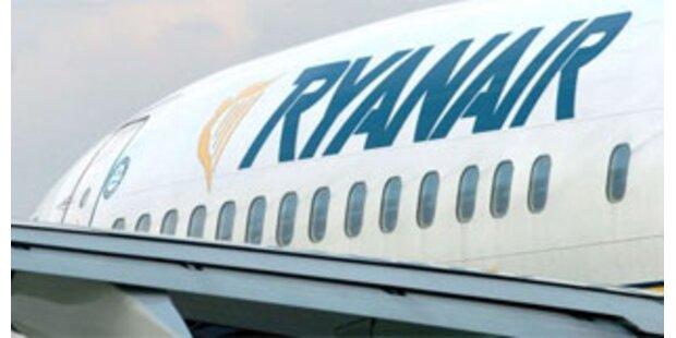 Neuerliche Notlandung einer Ryanair-Maschine