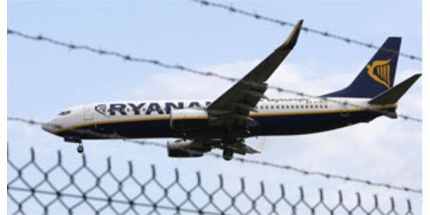Ryanair-Jet musste in Frankreich notlanden
