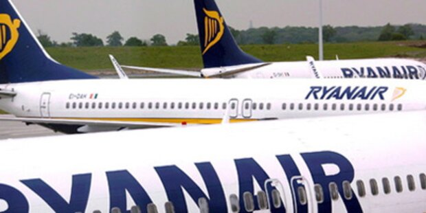Wütende Passagiere stoppen Ryanair-Flieger