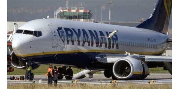 Bruchlandung von Ryanair-Maschine in Rom