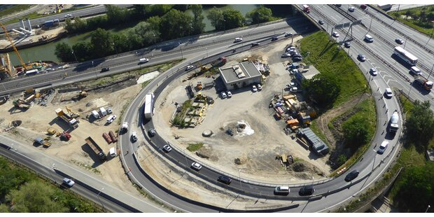 Südosttangente wird zur Mega-Baustelle