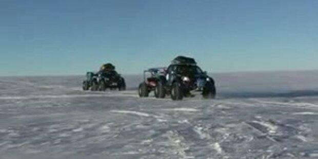 Toyota Hilux fährt zum Südpol