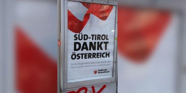 Südtirol-Plakate sorgen für Wirbel