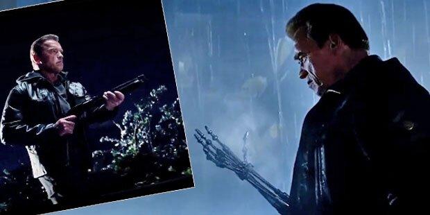 Arnie nackt im neuen ›Terminator‹