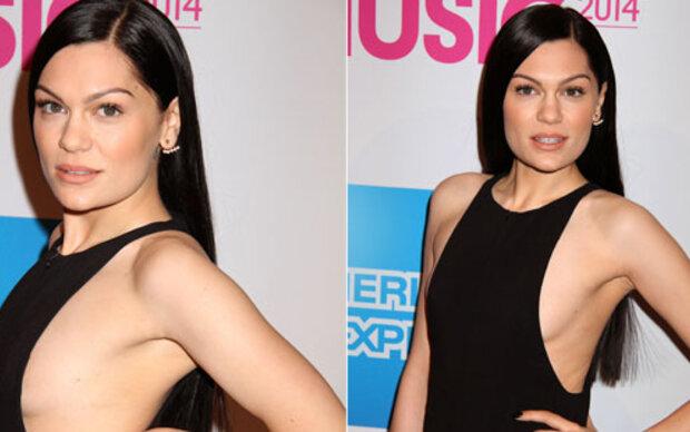 Jessie J: Sexy Jumpsuit mit Sideboob