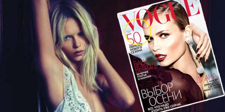 Und wieder liefert Vogue eine Photoshop-Panne