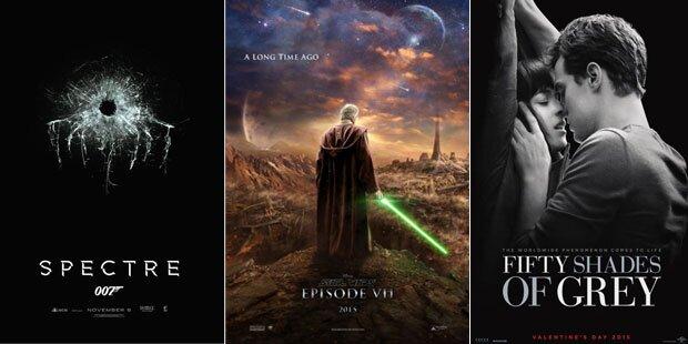 So wird das Mega-Kinojahr 2015