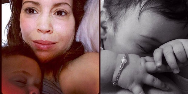 Milano: So süß sind ihre Baby-Selfies