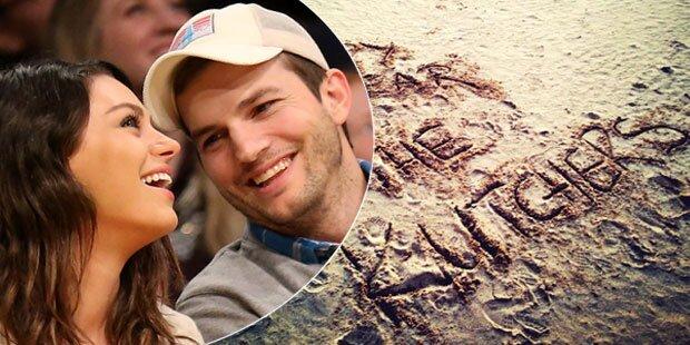 Kutcher und Kunis: Heimliche Hochzeit?