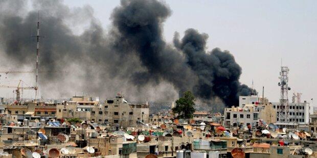 Schwere Kämpfe in Damaskus