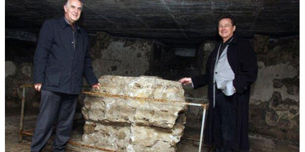 Tunnelarbeiten unterhalb des Doms
