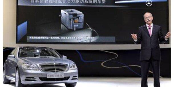 Daimler setzt auf Hybrid-Autos