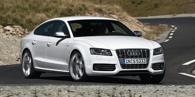 S5 Sportback - dank V6-Kompressor leistet er 333PS. Bild: Audi