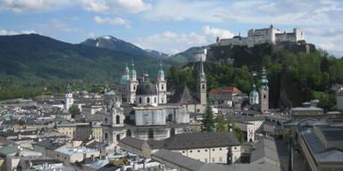 Salzburg Festung Stadt