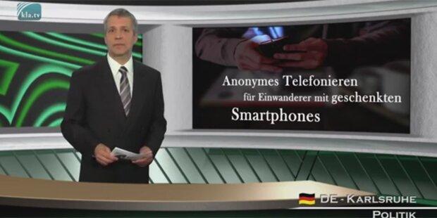 Wirbel um Gratis-Handys für Flüchtlinge