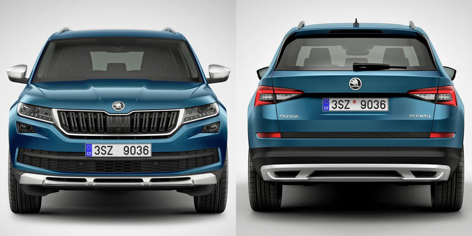 skoda kodiaq scout on sale from mid 2017. Black Bedroom Furniture Sets. Home Design Ideas