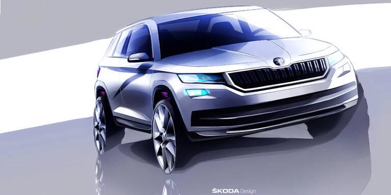 Neue Infos vom Skoda-SUV Kodiaq