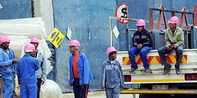 südafrika bauarbeiter