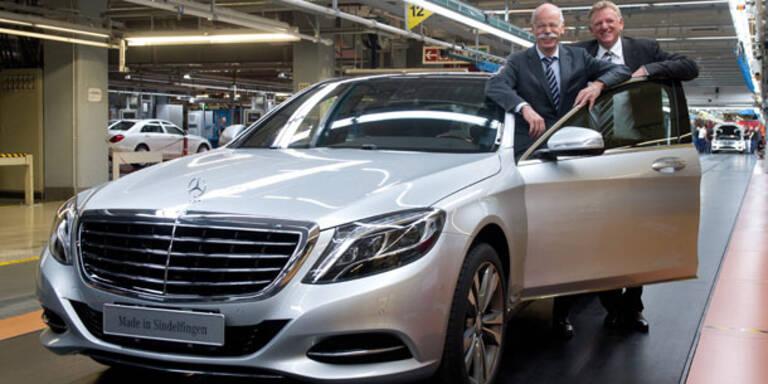 Mercedes setzt voll auf neue S-Klasse