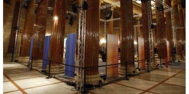 Parlaments-Umbau: Präsident muss weichen