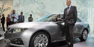 Saab stellt Produktion bis auf weiteres ein