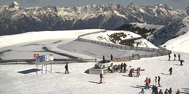 Die Top-Schneehöhen in den Skigebieten