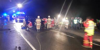 11 Verletzte bei Unfall in Salzburg