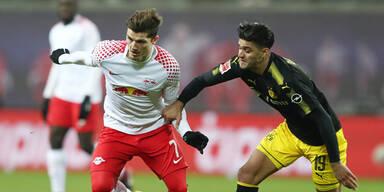 Kracher: RB Leipzig gegen Dortmund
