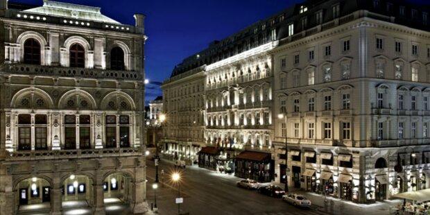 Die beliebtesten Hotels Österreichs