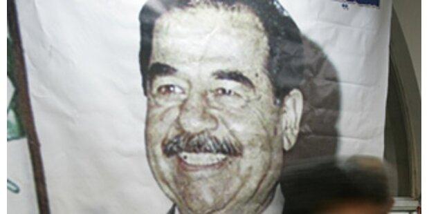 Demonstration zum Jahrestag von Saddam-Hinrichtung