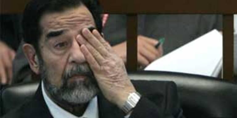 Saddam Hussein (Archivbild)