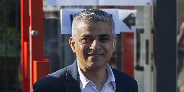 Erster Moslem wird Bürgermeister von London