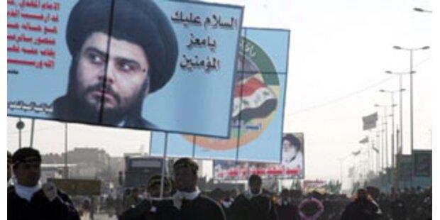 Al-Sadr lässt die Waffen weiter schweigen