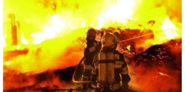 Sägewerk im Bezirk Melk abgebrannt