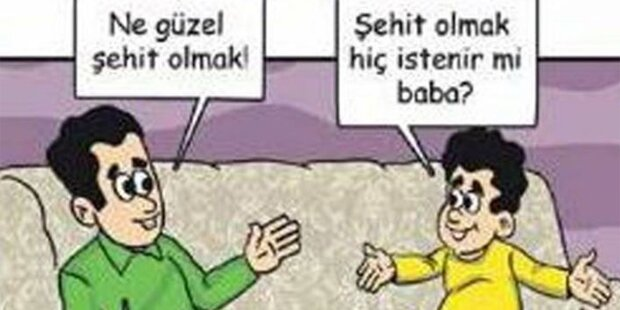 Türkei: Comic verherrlicht Märtyrer-Tod