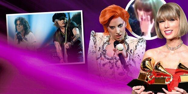 Triumph & Tränen bei Grammys