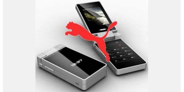 Puma bringt 2010 ein Handy auf den Markt