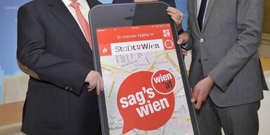Neue Wien-App für Bürgerbeschwerden