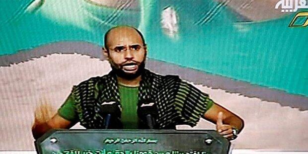 Verwirrung um Gaddafi-Sohn Saif