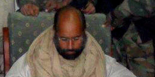 Saif Gaddafi in libyscher Kleinstadt vor Gericht