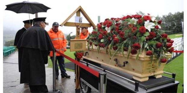 Abschied von Toni Sailer in Kitzbühel