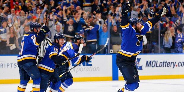 Saint Louis Blues mit Ausgleich gegen Boston Bruins