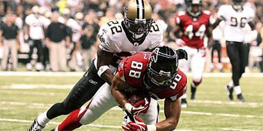 Erste Niederlage für New Orleans Saints