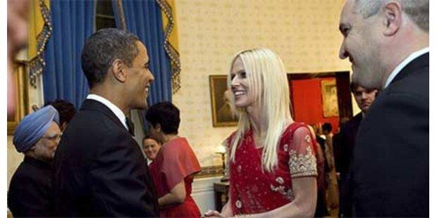 Ungebetene Gäste von Obama begrüßt
