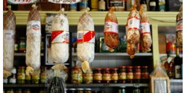 Italienische Salami enthält Salmonellen